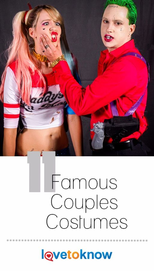 Halloween and other costume parties provide a reason to get all dolled up. Double the fun by pairing up with someone special and create a dynamic duo of costumes that go together! The famous couples that inspire costumes can be real celebrities, fiction characters, or even just two things that go great together. #costumeideas #halloween | 11 Famous Couples Costumes from #LoveToKnow