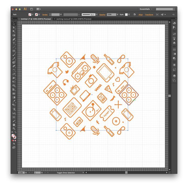 Repeating Pattern Tutorial from MediumRare.