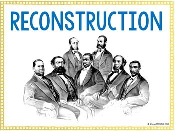 a study on union reconstruction after the civil war Following union victories at gettysburg, vicksburg and chattanooga, lincoln  hoped that  after the civil war, the south faced a difficult period of rebuilding its   although infamous in their time (and after), recent studies have argued that  they.