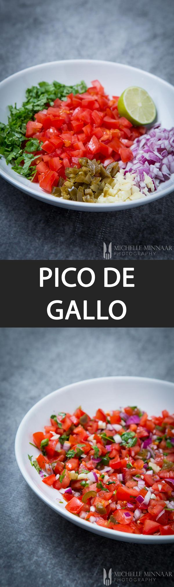 Pico de gallo, also commonly referred to as #salsa fresca (fresh salsa), is an authentic #Mexican dish which is basically a tomato salsa. It is made up of traditional ingredients found in Mexico such as #cilantro, chopped tomatoes, fresh serrano #peppers or jalapenos, onion, salt and lime juice. Best served immediately. #recipe #nonnom #foodporn