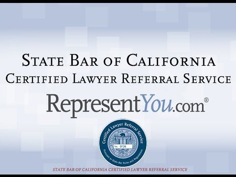 End your Attorney Search Now! With a State Bar of California Certified Lawyer Referral Service - RepresentYou.com - Find a lawyer today! http://www.represent...