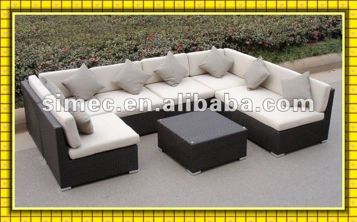 Factory Hot Sale Poly Rattan Garden Furniture Outdoor Ratan Sofa Patio Sunbed Scsf-126 - Buy Garden Furniture,Rattan Garden Furniture,Modern Rattan Furniture Product on Alibaba.com