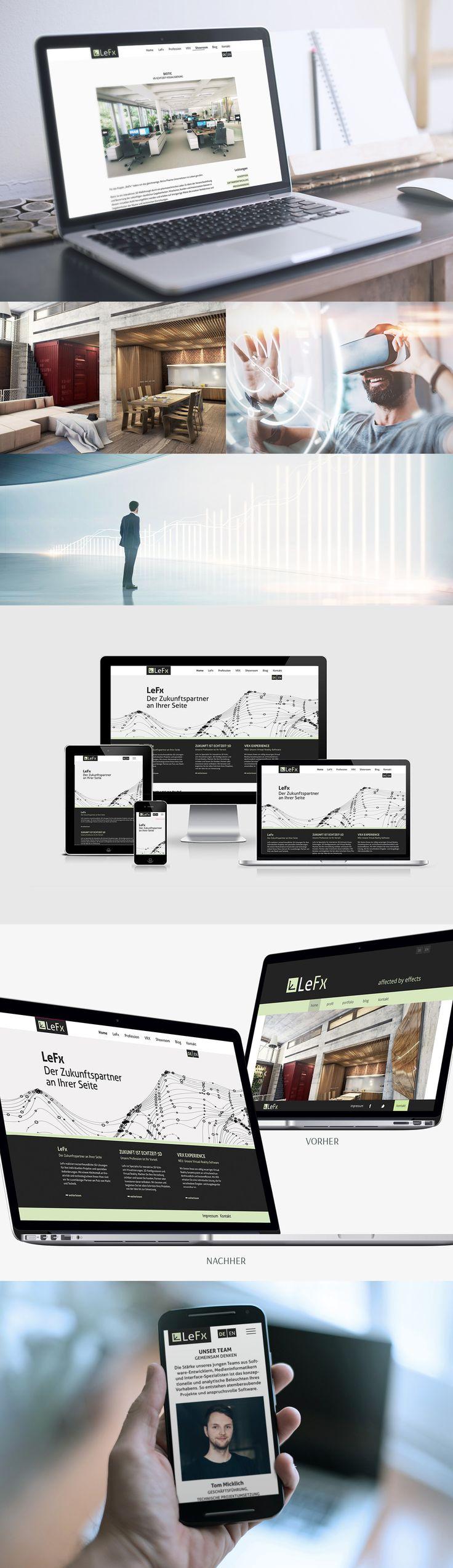Zitronengrau Leipzig Webdesign Redesign LeFx