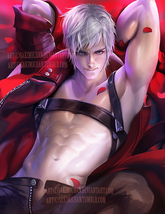 Dante .male nsfw serie. by sakimichan on DeviantArt