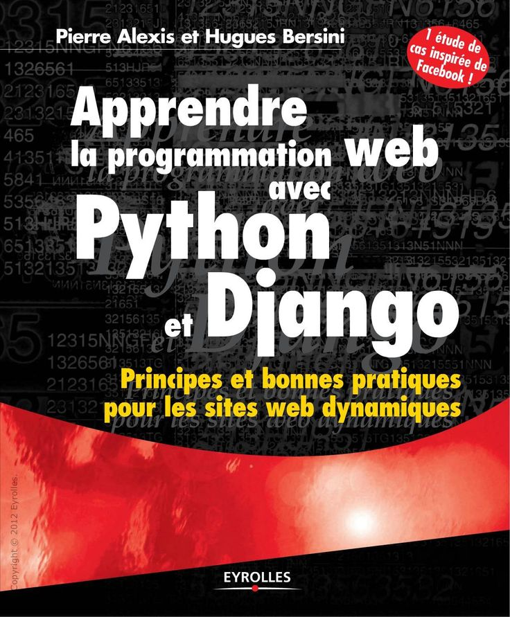 32 best python programming images on pinterest python programming apprendre la programmation web avec python et django fandeluxe Image collections