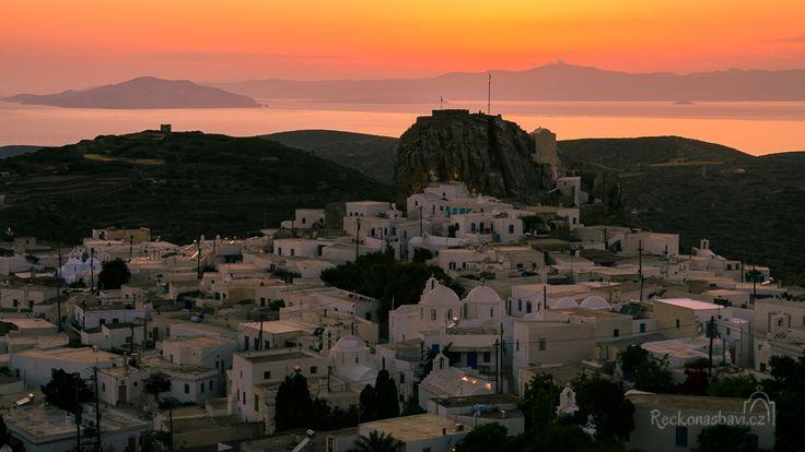 Chora Amorgos island Greece