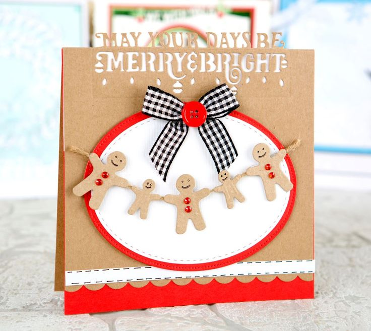Festive card made using the @tonicstudiosuk Christmas Header Dies! / cardmaking / papercraft / scrapbooking / craft