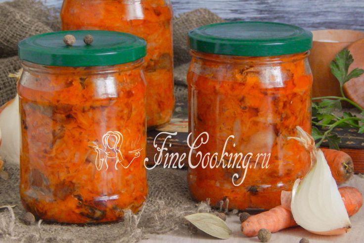 Солянка с грибами на зиму - рецепт с фото