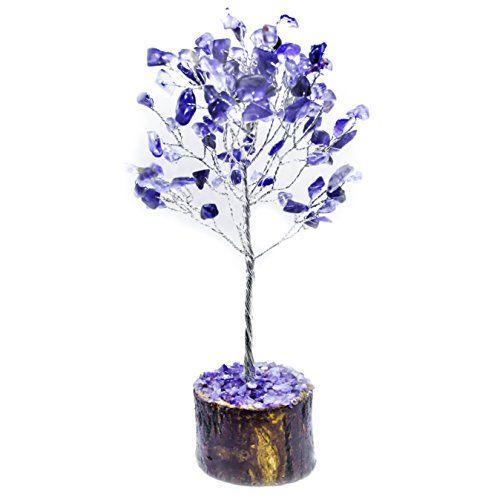 Crocon/couleur naturelle Pierre précieuse de guérison Cristal bonsaï - couleur des fils electrique