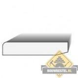 MDF Plint - Wit (12x120mm, 488cm) (6 stuks)