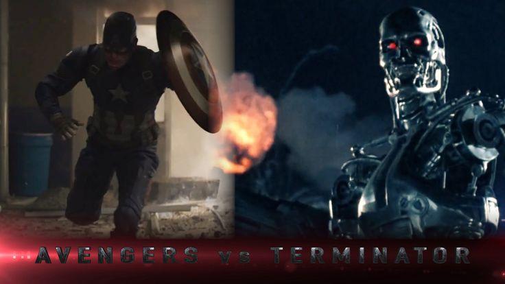 Avengers Vs Terminator Trailer #2 - Story