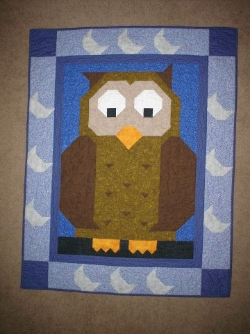 Owl quilt: Quilts Patterns, Beautiful Quilts, Quilty Things, Owl Bedding, Books Worth, Animal Quilt, Owl Quilts, Baby Stuff, Owl Patterns