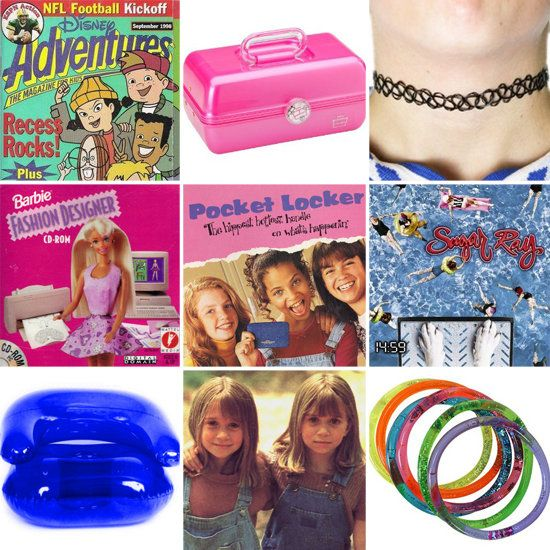 I had ALL of these things! I was definitely a 90's girl!