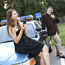LOVE LOVE LOVE THIS!! Two police officers fall in love! Fabulous law enforcement engagement sesh!