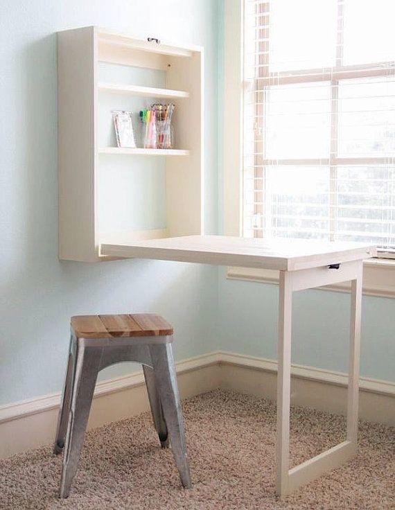 wall mounted fold out wall desk