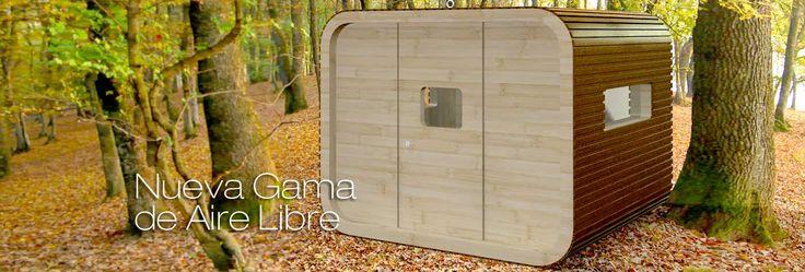 Nueva gama de bungalows al aire libre #arquitectura #madera #bungalow