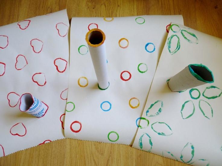 Linfa Creativa: Carta regalo Hand made