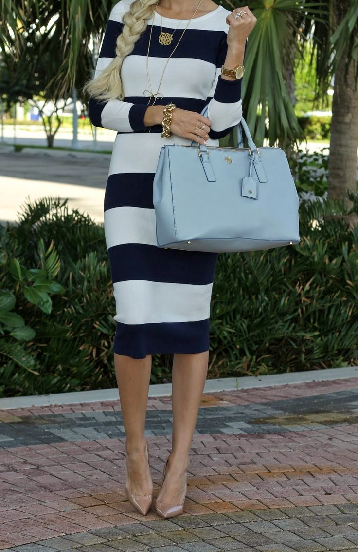 Midi pencil dress   A Spoonful of Style