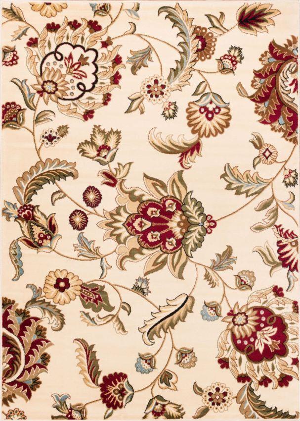 Ashley Oriental Ivory Floral Rug