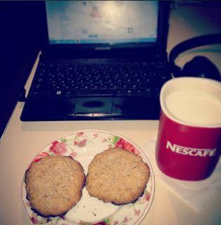 Рина Афлятунова: Овсяные печенья   Oatmeal Cookies