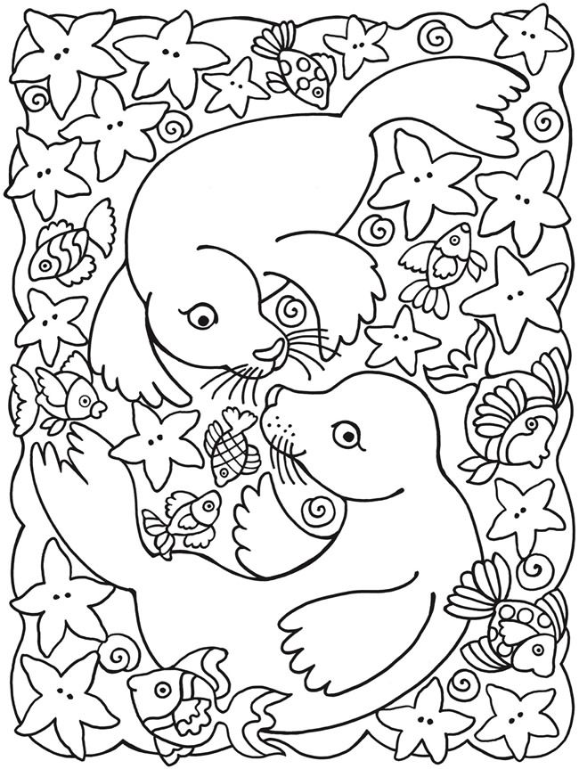 165 best Summer Coloring pages images on Pinterest