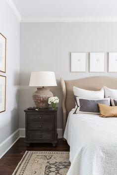 Benjamin Moore Nimbus flat. Benjamin Moore Nimbus. Soft grey paint color Benjamin Moore Nimbus #BenjaminMooreNimbus #paintcolor #flat Marie Flanigan Interiors