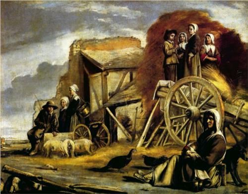 The Cart - Le Nain brothers (1641)