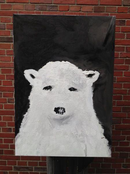 Eisbär  von bilderbude auf DaWanda.com
