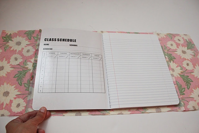 Inside Book Cover Paper : Best images about diy composition notebook on