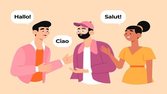 كيف تتعلم المحادثة باللغة الانجليزية Vector Free Illustration Story Graphic Resources