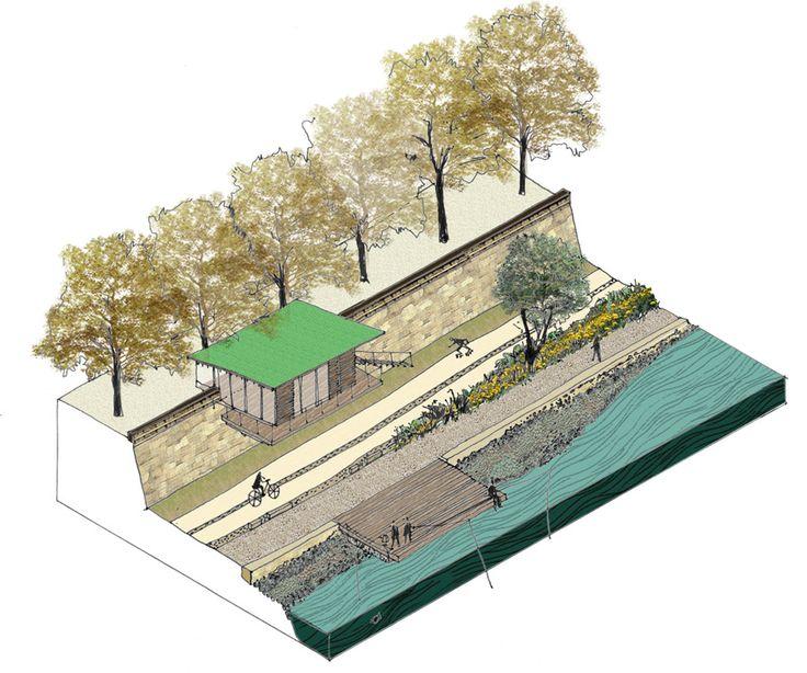 best 25 landscape architecture section ideas on pinterest landscape architecture design. Black Bedroom Furniture Sets. Home Design Ideas