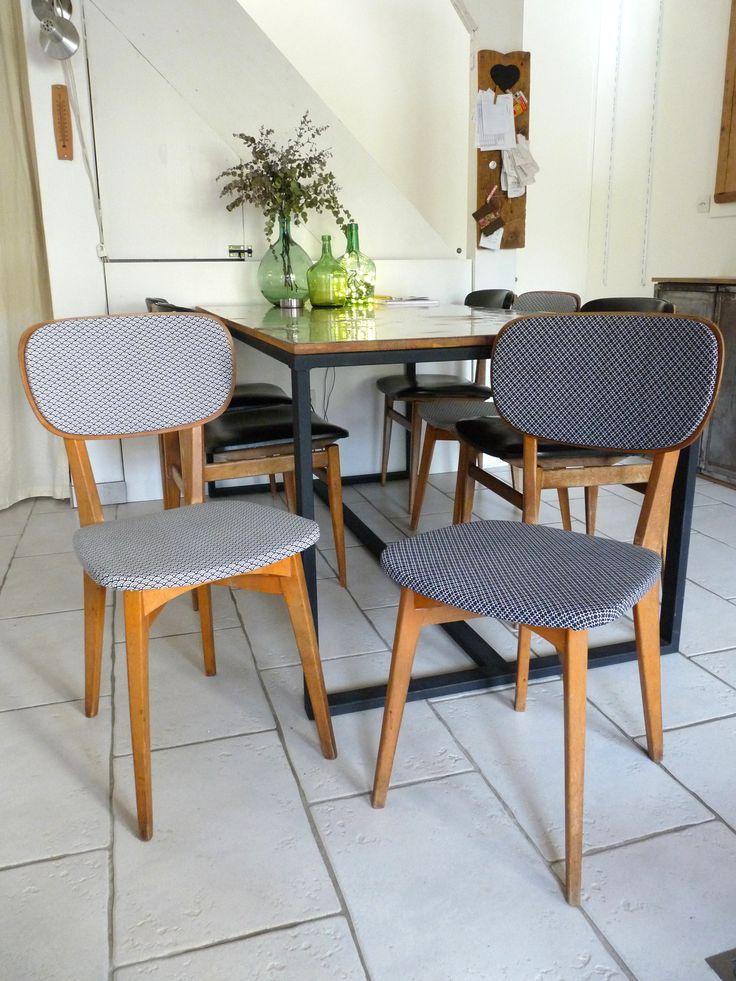 les 20 meilleures id es de la cat gorie chaises r nov es sur pinterest refaire les meubles. Black Bedroom Furniture Sets. Home Design Ideas
