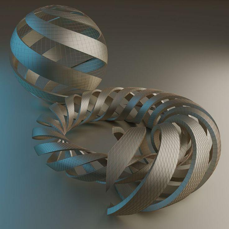 Spirals (M. C. Escher) by Vítězslav Koneval