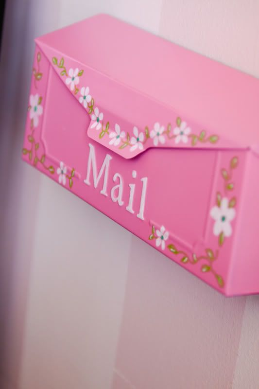 Pink Mailbox - cute! #pink #color #colours