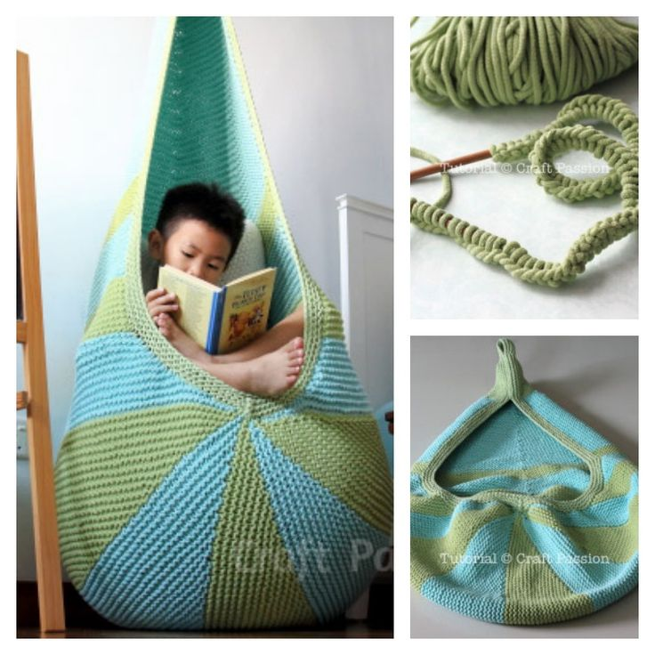 Knitted Cocoon Seat Free Pattern