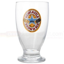 Free Newcastle Brown Ale Glass with every order of Beer/lager/Ale