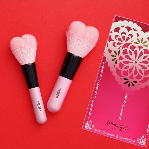 熊野 化粧筆 ハート