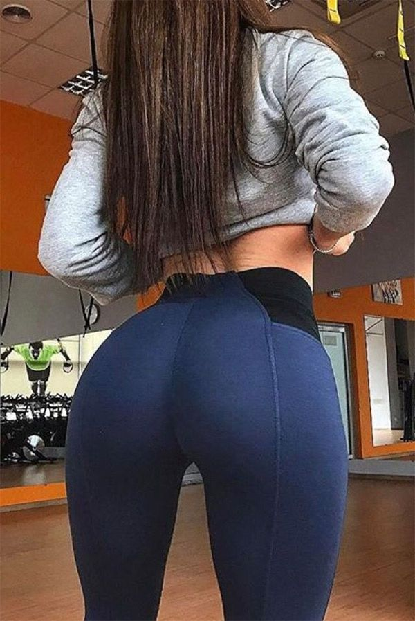 Pity, that Hot ass in yoga pants