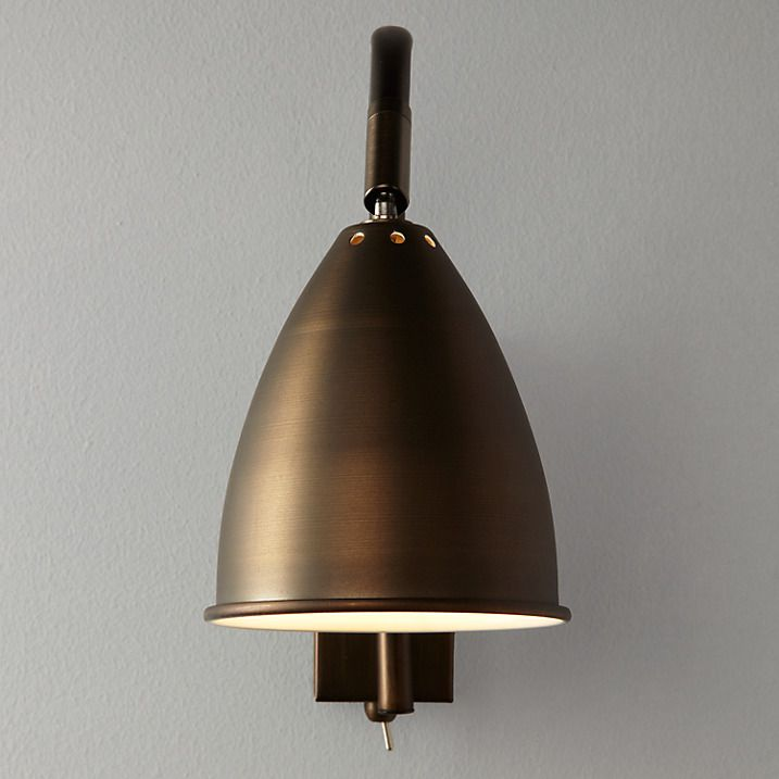 Buy John Lewis Chelsea Adjustable Wall Light Bronze Online At Johnlewis