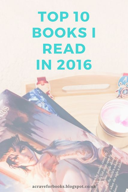 Welcome: Top 10 books I read in 2016