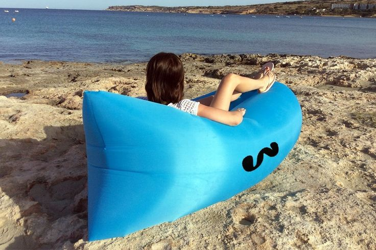 WHIZZ BAG - The Best Inflatable Lazy Bag Air Lounger, Top Quality Real Nylon. Inflatable Lounger, Inflatable lazy bag, Portable Waterproof Compression >>> Check out this great image  : Air Lounges