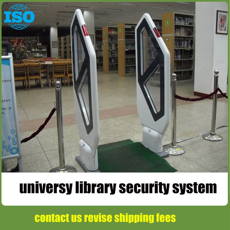 University Library Anti Theft System Book Store Shoplifting Prevention System Library Security System Gate A Security Gadgets Security System Security Alarm
