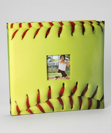Take a look at this Fast Pitch Softball Large Scrapbook by Cricut on @zulily today!