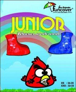 Jual Jas Hujan Sepatu Junior Funcover