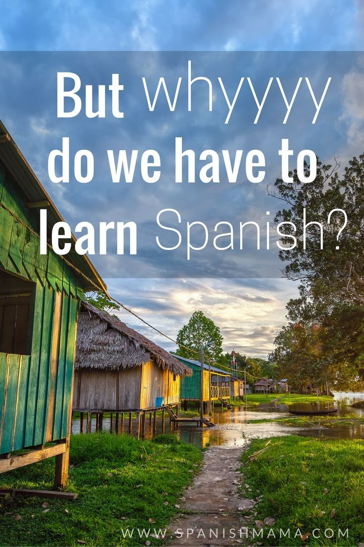 What do you tell your students? Why should we learn Spanish? Why is bilingualism a gift?