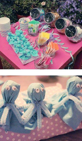 Unterwasser Party – Dekoration und Spiele – Irma Alexandra Schweiger