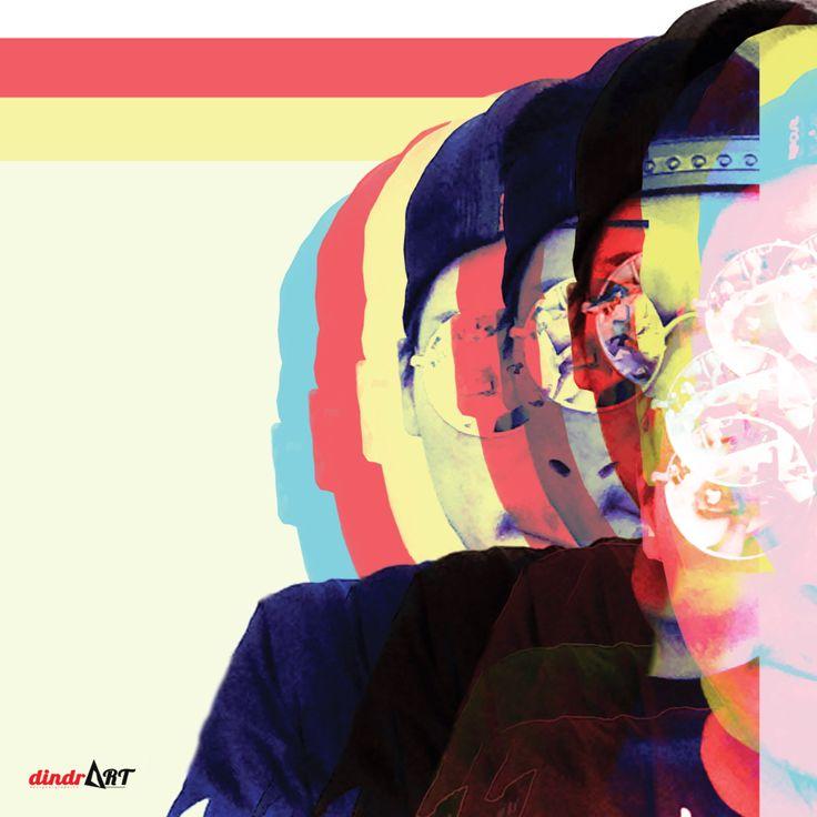 Penuh warna dan semoga warnanya penuh.  #CMYK #dindrART #designGraphic #art #work #desainGrafis  #designer #graphic #desain #grafis #graphicDesign #typography #workArt #designerGraphic