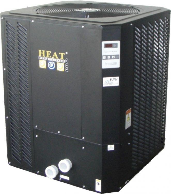 Bomba de Calor Perfector Pro. Bomba de calor con intercambiador de tinanio. Sistema de descongelación automático, funcionamiento silencioso, intercambiador de titanio con 5 años de garantia, display digital. Encuentralo en www.tiendapiscinasonline.es