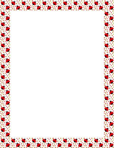 ... free border clip download ladybug printable ladybug forward printable