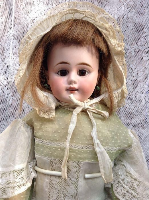 Lovely Sonneberg George Lutz doll - 10 from danielles-antique-dolls--and--bears on Ruby Lane
